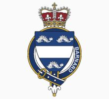 Coat of arms (family crest) for last-name or surname Barnard (England) . Heraldry banner for your name. by rita24