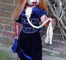 Bethina custom zombie doll. by ADzArt
