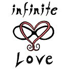 Infinite Love Typography by FoxfireDesigns
