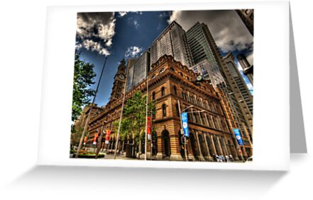 Old & New - GPO Building, Martin Place Sydney - The HDR Experience by Philip Johnson