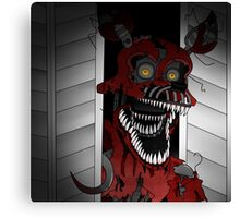 Five Night At Freddy's 4 Nightmare Foxy Canvas Print
