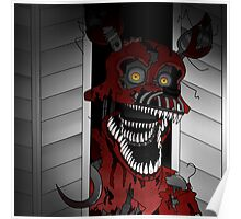 Five Night At Freddy's 4 Nightmare Foxy Poster