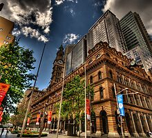 Meet Me at the GPO - Martin Place , Sydney - The HDR Experience by Philip Johnson