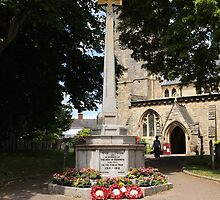 War Memorial in Sidmouth Devon England by chris-csfotobiz