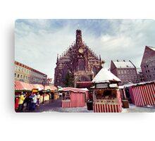 Nuremberg Christkindlesmarket Canvas Print