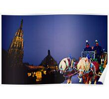Christkindles Market Nuremberg Poster