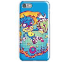 Sahnic Staaaahp! (blue background) iPhone Case/Skin
