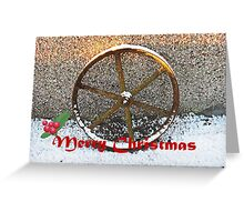 'Wheelie' Wonderful Christmas time! Greeting Card