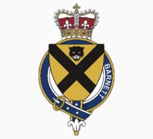 Coat of arms (family crest) for last-name or surname Barnett (England) . Heraldry banner for your name. by rita24