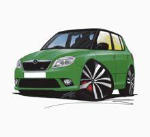 Skoda Fabia 2 vRS Green [BLK] by Richard Yeomans