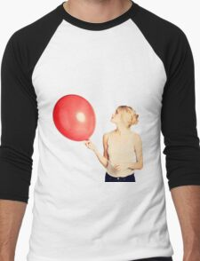 The Red Balloon Men's Baseball ¾ T-Shirt