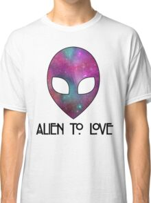 Alien to Love - PURPLE Classic T-Shirt