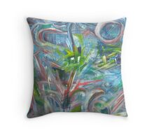 """roller coaster of a week"" Throw Pillow"