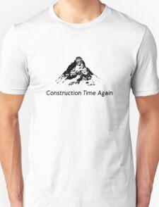 DM : Construction Time Again - Black T-Shirt