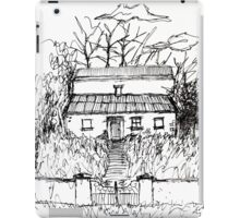 Illustrated Irish Haunted House iPad Case/Skin