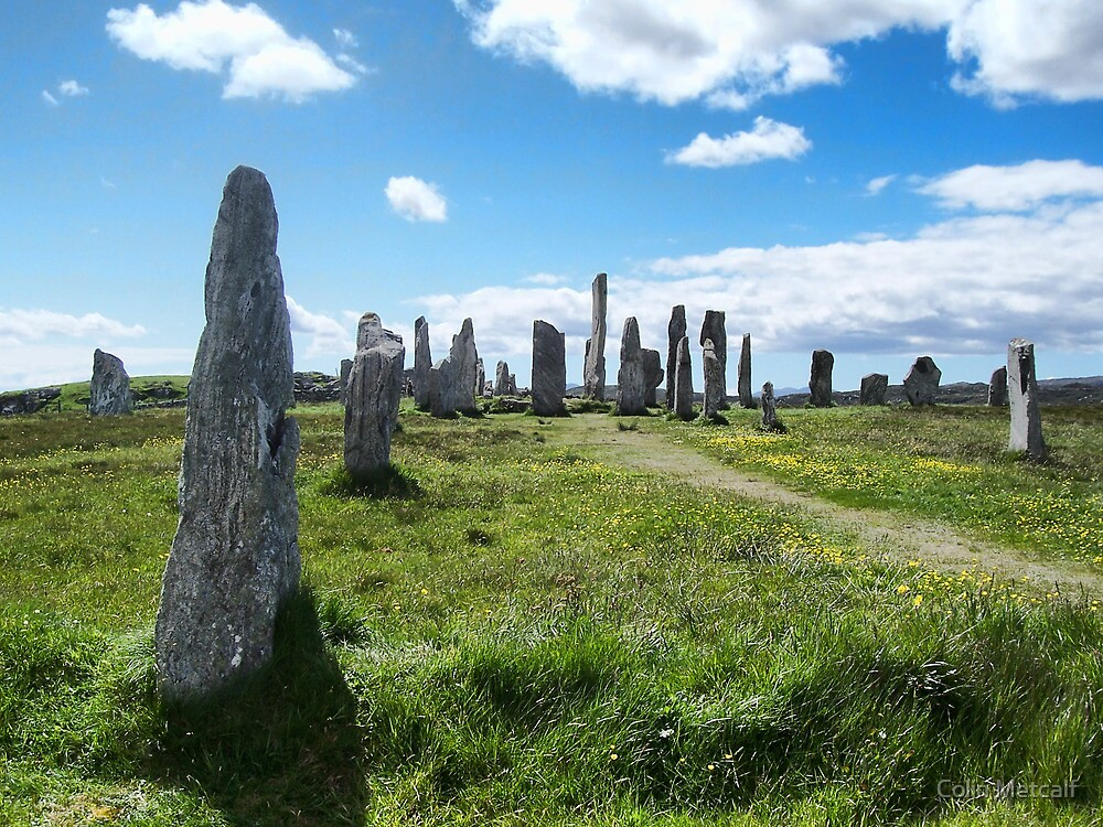 Callanish (Calanais) Standing Stones by Colin Metcalf