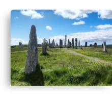 Callanish (Calanais) Standing Stones Canvas Print