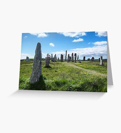 Callanish (Calanais) Standing Stones Greeting Card