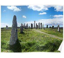 Callanish (Calanais) Standing Stones Poster