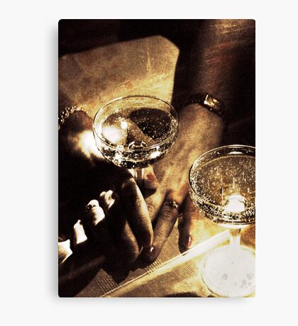 Hands Of A Slave Canvas Print