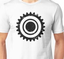 Gear-Atmosphere-Black Unisex T-Shirt