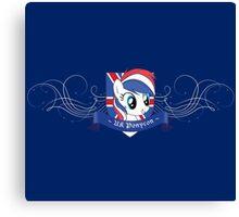UK Ponycon Logo Canvas Print