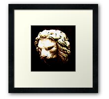 where's your crown, king nothing? Framed Print