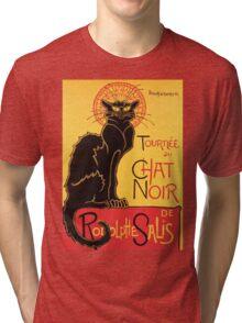 Le Chat Noir Vintage Poster Tri-blend T-Shirt
