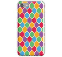 Retro Hexagons iPhone Case/Skin