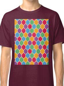 Retro Hexagons Classic T-Shirt