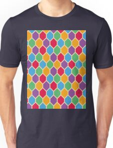 Retro Hexagons Unisex T-Shirt