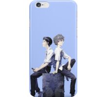Shinji Ikari and Kaworu Nagisa iPhone Case/Skin