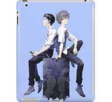 Shinji Ikari and Kaworu Nagisa iPad Case/Skin