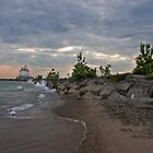 Erie Lighthouse by antonalbert1