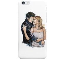 Buffy and Angel inspired watercolour iPhone Case/Skin