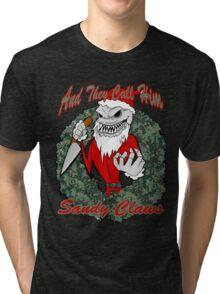 Jack - Sandy Claws Tri-blend T-Shirt