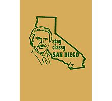 Stay Classy, San Diego Photographic Print