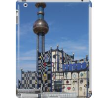 Waste Incineration Plant, Vienna Austria iPad Case/Skin