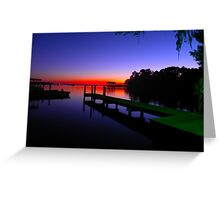 Day is Done Greeting Card