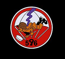 596th Parachute Combat Engineer Company (US Army - Historical) by wordwidesymbols