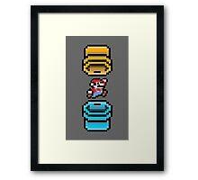 Super Mario Portal Framed Print