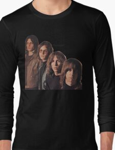 Iggy Pop The Stooges T-Shirt Long Sleeve T-Shirt