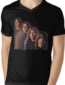 Iggy Pop The Stooges T-Shirt Mens V-Neck T-Shirt