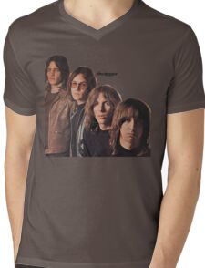 Iggy Pop The Stooges T-Shirt Mens V-Neck T-Shirt