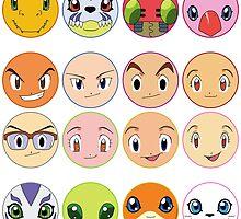 Digimon Adventure by Decokun