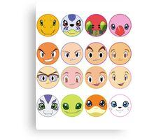 Digimon Adventure Canvas Print
