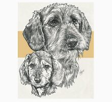 Dachshund, wire-haired, Father & Son T-Shirt