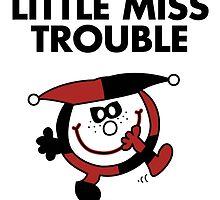 Harley Quinn - Little Miss Trouble by landobry