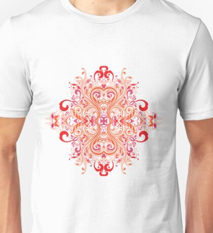 Chinese Flower Unisex T-Shirt