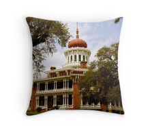 Longwood Plantation Throw Pillow